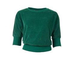 Froy-and-Dind-sweater-Sybille-evergreen-velours-