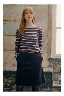 Sailor Shirt-Tri Breton Midnight Sailor